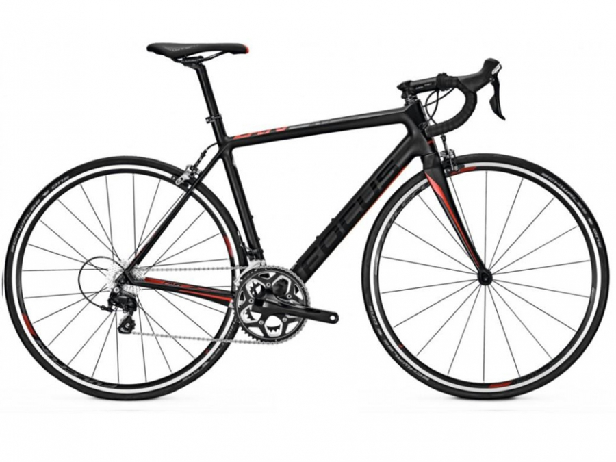 FOCUS Cayo 105 M 22G Carbon / blue / white 2017