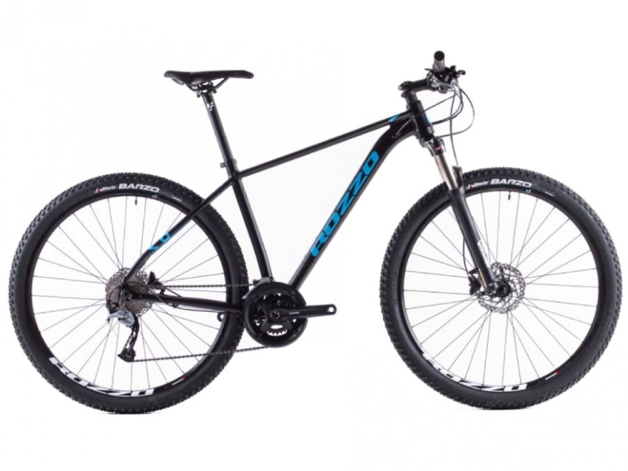 ROZZO BASE 80 horské Kolo 3x9 černý mat/modrá 29 vel. 19